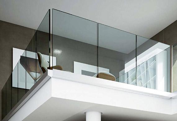 Glaswände-Glasportalen