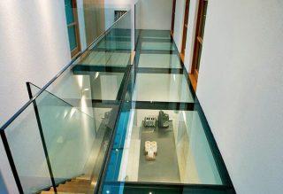 Design Járható üveg