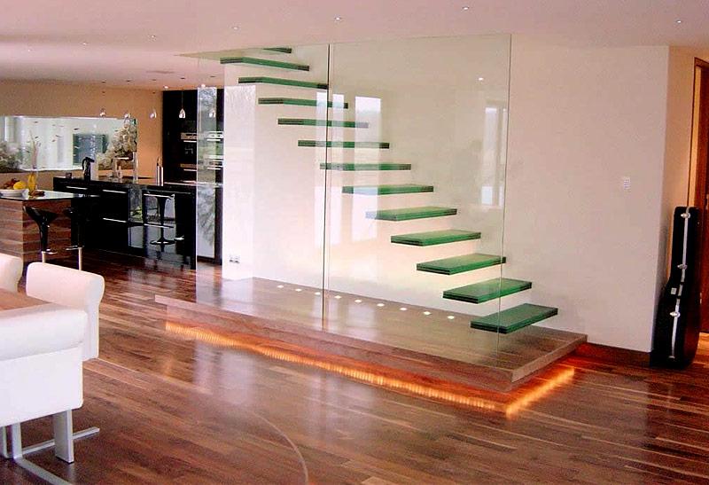Glastreppe: Die ätherische Lösung